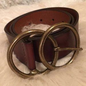 Free People Eternity Leather Belt